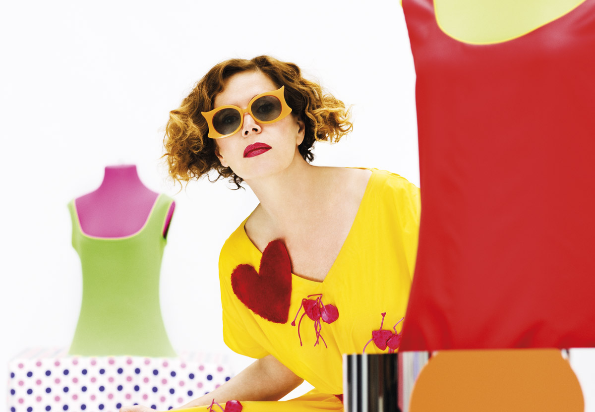 The designer – Welcome to Agatha Ruiz de la Prada Eyewear